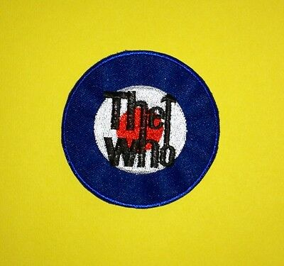The Who Rock Music Iron On Hat Jacket Backpack Hoodie Patch