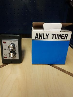 Anly IC Twin Timer Type ATDV-Y Time 6S 12VDC 50/60Hz Industrial