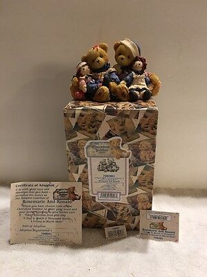 """Cherished Teddies """"A Hug Is Worth A Thousand Words, A Friend Is Worth More"""""""