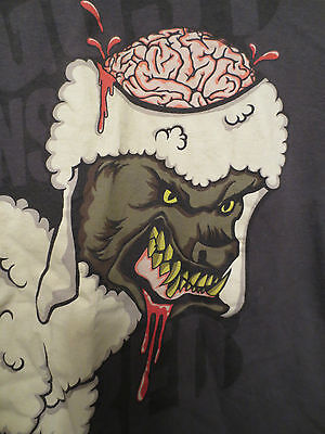 AUGUST BURNS RED - 'WOLF IN SHEEP' T-SHIRT - USED - SIZE SMALL - Halloween