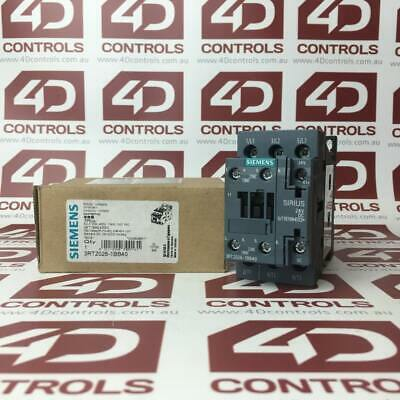 Siemens 3RT2026-1BB40 Contactor, AC3:11kW 1NO+1NC 24VDC - New Surplus Open