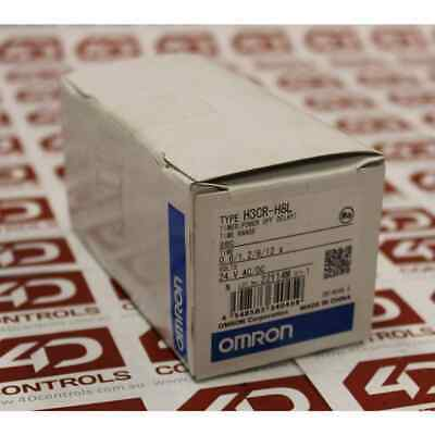 Omron H3CR-H8L TIMER (POWER OFF DELAY) - New Surplus Sealed