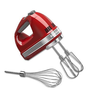 KitchenAid 7-Speed Hand Mixer - Empire Red