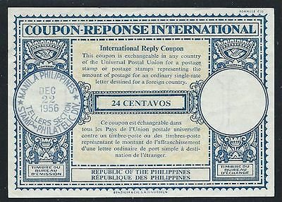 Philippines 1956 Irc International Reply Coupon *nice*