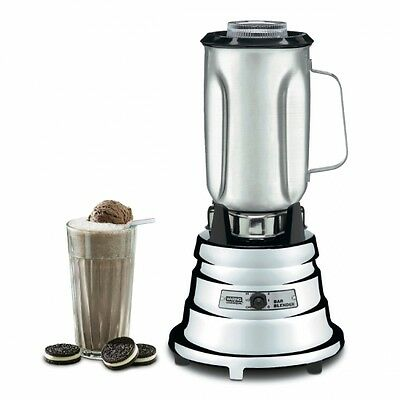 Waring Commercial Chrome Bar Blender w/ Stainless Steel Container