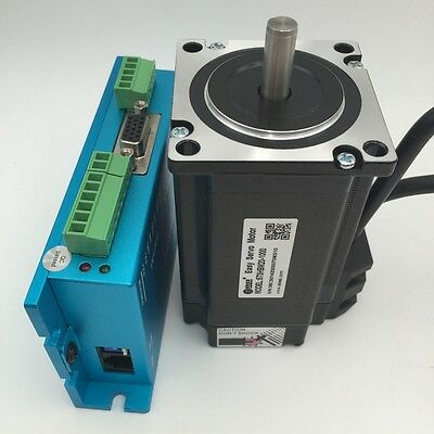 2Nm Nema23 DSP Closed Loop Stepper Motor Hybrid Easy Servo Driver CNC Router