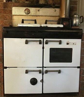Rayburn 510 wood fire oven and flue