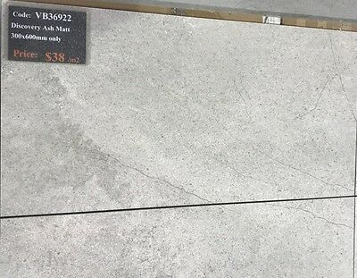 Discovery Ash Porcelain Floor and Wall Tile 300x600 Rectified VB36922