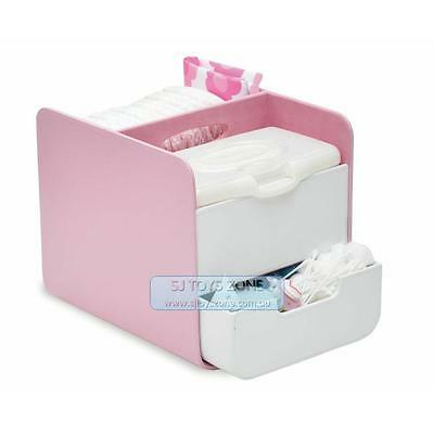 B.Box The Essential Nappy Caddy - Pretty In Pink Baby Changing Disapers Box