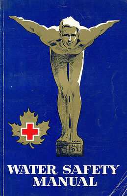 Vintage Water Safety Manual 1968 Canadian Red Cross Canadiana Ephemera