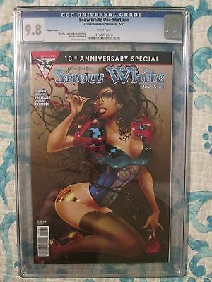 SNOW WHITE ONE-SHOT CGC 9.8 FRANCHESCO GRIMM FAIRY TALES 10th ANNIVERSARY NM