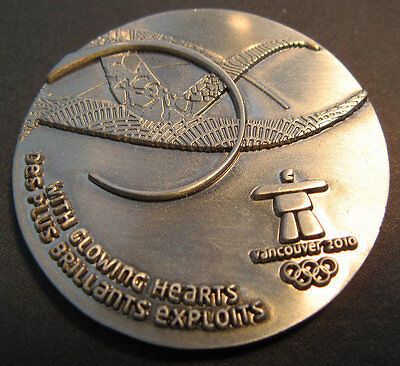 2010 Vancouver Olympic Games Participation Medal In Presentation Box
