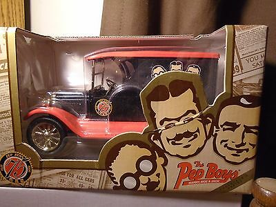 The Pep Boys 75th Anniversity Chevrolet Truck Bank 1996 Ertl Collectibles # F976