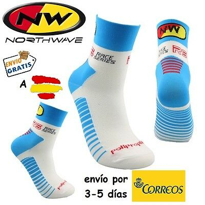 CALCETINES CICLISMO NW CYCLING SOCKS, color Azul