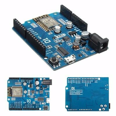 D1 WIFI Development Board ESP-12E ESP8266 Shield for Arduino IDE UNO OTA WeMos