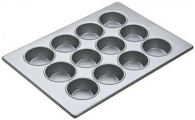 Focus Bakeware Large Muffin Pan, 3 Rows of 4