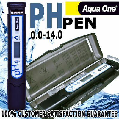 Aqua One Propen PH Tester Pen Aquatic Aquarium Fish Tank Water Test & Mesure Kit