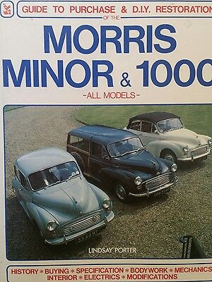 guide to purchase & DIY restoration of the Morris Minor & 1000