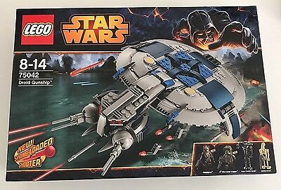 LEGO Star Wars 75042 Droid Gunship Brand New & And Sealed Retired Set