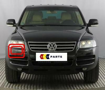 New Genuine Vw Touareg 02-07 O/S Right Headlight Washer Cover Cap 7L6807752A