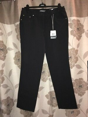 Nike Womens Winter golf trousers Tour Performance UK 12 619959-010