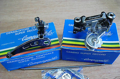 Campagnolo Super Record Mk2 Gear Set Nos