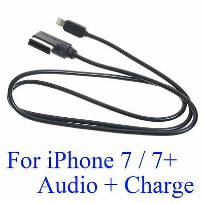 AMI MDI MMI Adapter Charging + Audio Cable 1M for Apple iPhone 7 / 7 PLUS VW AU
