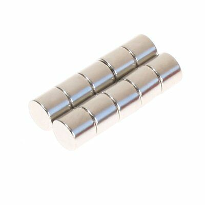N35 Super Strong 12 x 10 mm Round Block Magnets Rare Earth Neodymium Magnet
