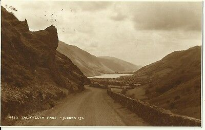Tal-y-Llyn Pass Judges 6432 Used 1936 Postcard + Stamp Wales
