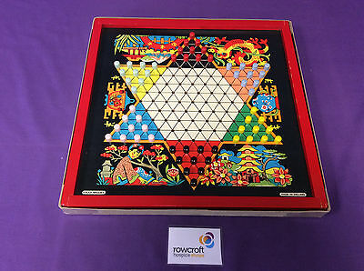 Vintage Chad Valley Chinese Checkers Board Game