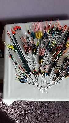 100+ Mixed Coarse Fishing Floats For Rod And Pole