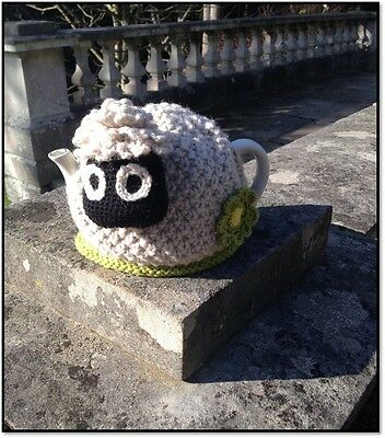 New Hand Knitted Shaun the Sheep Tea cosy