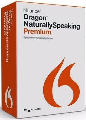 Nuance Dragon Naturally Speaking Premium 13 with Headset Brand New