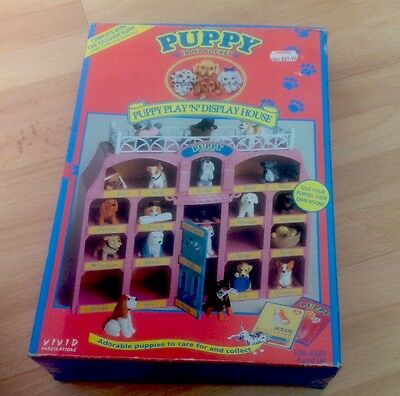Puppy In My Pocket - Puppy Play And Display House - 1994 - Used.