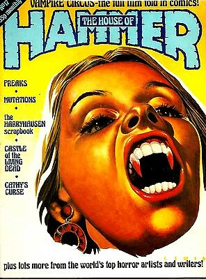 House Of Hammer Magazine #17 Magazine Ex Condition