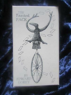 THE FANTOD PACK. Edward Gorey. Very unusual and unique Oracle Cards