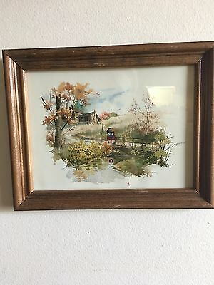 Upcycled Stardew Valley video game thrift store art