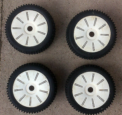 Answer JOKER 1/8th RC Buggy Wheels & Tyres Mounted x4 Car Rims 17mm Hex