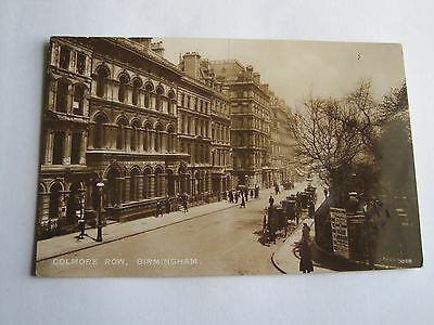 Colmore Row Birmingham Warwickshire detailed early RP