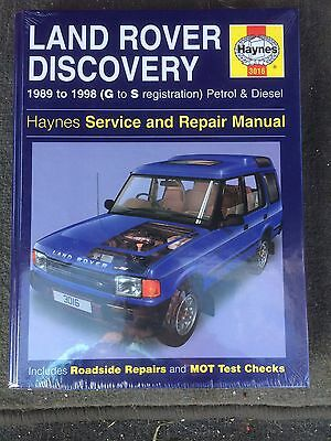 Haynes Workshop Manual Brand New Sealed Land Rover Discovery 1989-1998 P&D