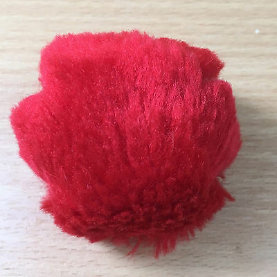 Rare 1997 Red Nose Day Comic Relief nose 'Shaggy Nose' Furry Fur Covered #36