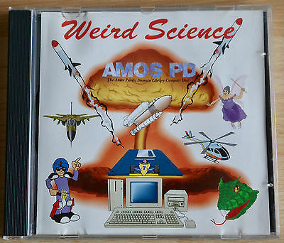 Weird Science AMOS PD : AMIGA / Commodore CD-ROM, Release 2
