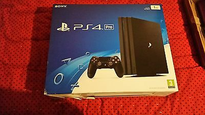 PlayStation 4 PS4 Pro 1TB Box  ***BOX ONLY NO CONSOLE***