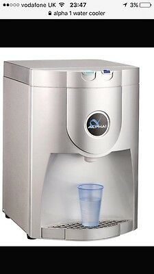 Alpha One Table Top Cold & Ambient Plumber Water Cooler *FREE DELIVERY*