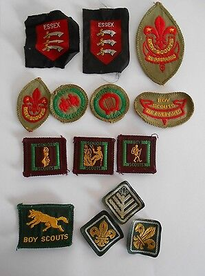 lot of   boy scouts   senior scouts cloth patches