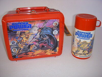 Captain Power And The Soldiers Of The Future Lunchbox And Thermos, Aladdin!
