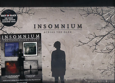 Insomnium - The Candlelight Years (  4 Coloured Vinyl LPs - SEALED )
