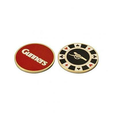 Official Licensed Football Product Arsenal Casino Chip Ball Marker Golf Fan