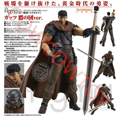 Max Factory figma 187 Berserk Guts Band of the Hawk ver. Action Figure