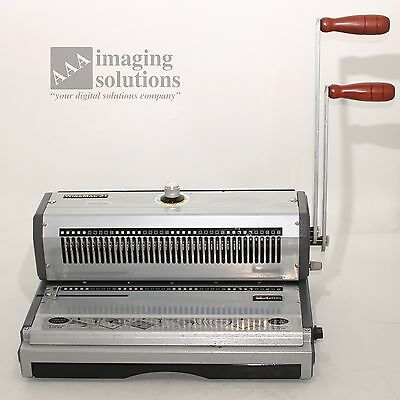 Unibind S310 PBMUNIWIRE3 Binding Machine for double wire 3:1 Wire-O *USED*